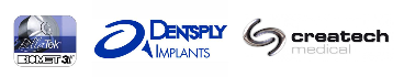 Millings partners include Biomet 3i - Denstply Atlantis - Createch Medical
